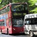 ロンドン:バスの乗り方、運賃、バス路線